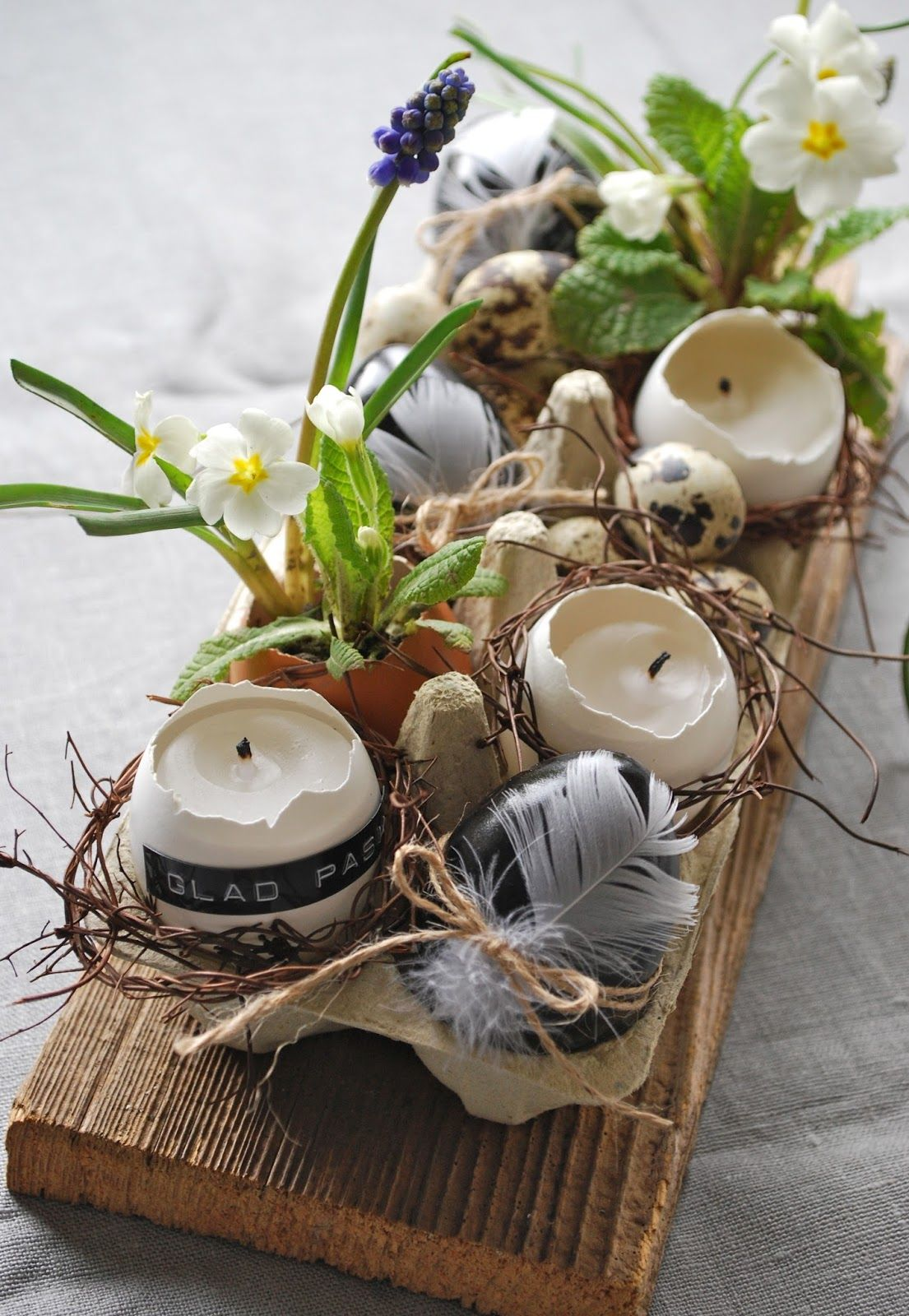 Frohe Ostern! (mamas kram) | hhhh | Easter, Easter table, Easter ...