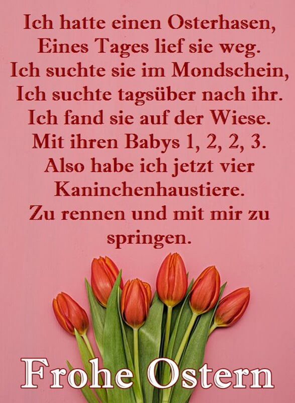 FROHE OSTERN 2019