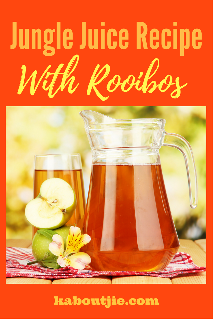 Jungle Juice Recipe With Rooibos | ***Bloggers