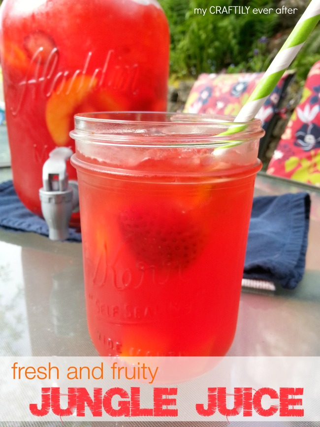 Fresh and Fruity Jungle Juice Drink using Kool-Aid - My Craftily ...