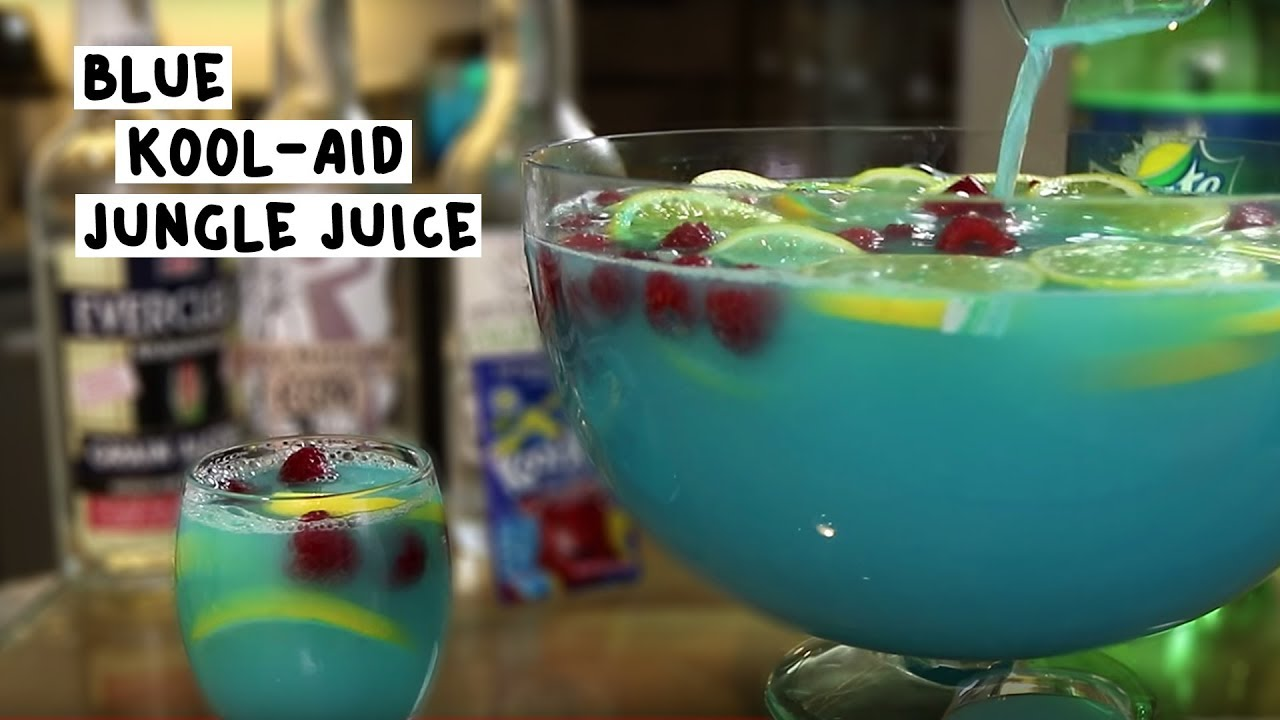 The Blue Kool-Aid Jungle Juice - YouTube